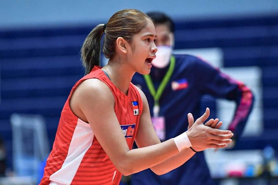 Deanna Wong of Choco Mucho Philippines. (Photo: AVC - Asian Volleyball Confederation/Facebook)