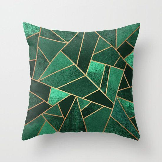 "Get it <a href=""https://society6.com/product/emerald-and-copper-lines_pillow#s6-3530809p26a18v129a25v193"" target=""_blank"">here</a>."