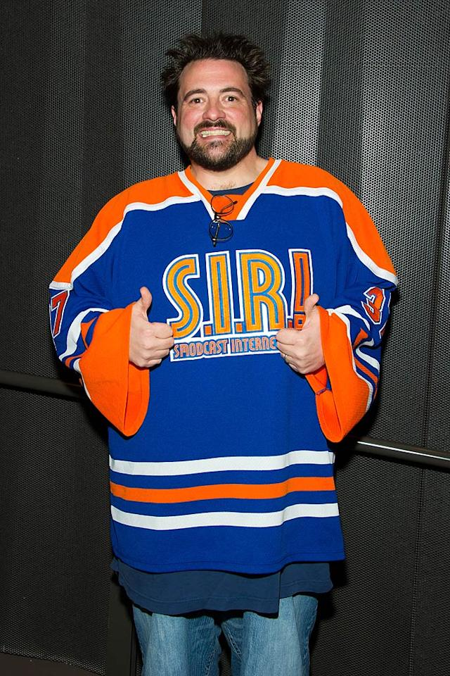 """Director Kevin Smith (""""Clerks"""") turns 41. Michael Stewart/<a href=""""http://www.wireimage.com"""" target=""""new"""">WireImage.com</a> - June 11, 2011"""
