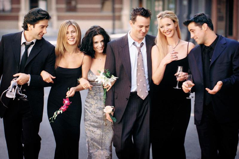 The 'Friends' cast in a promo shot: Getty Images