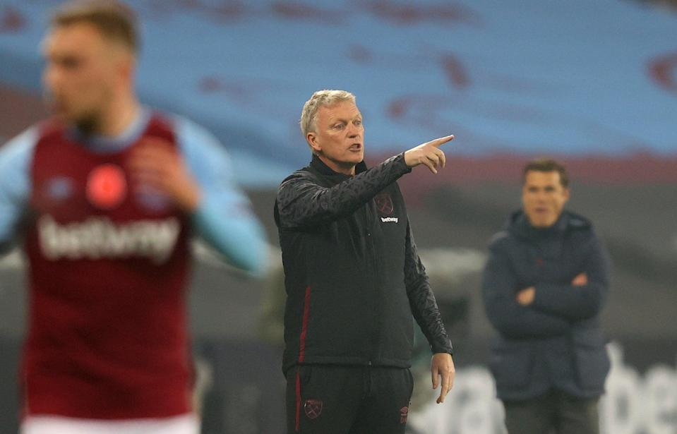 <p>Concerns | David Moyes has called for new equipment to be developed to limit any possible risk in training</p> (AP)