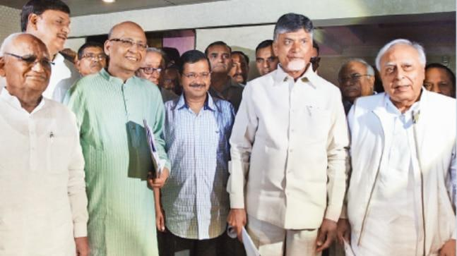 Andhra Pradesh Chief Minister N Chandrababu Naidu, who met Chief Election Commissioner Sunil Arora to raise the issue of EVM malfunctioning on Saturday, said 21 political parties have demanded verification of VVPAT slips of 50 per cent EVMs.