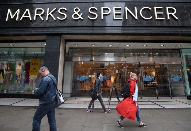 A branch of Marks & Spencer on Oxford Street, central London