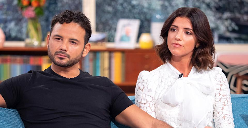 Ryan Thomas appeared with girlfriend Lucy Mecklenburgh on This Morning.