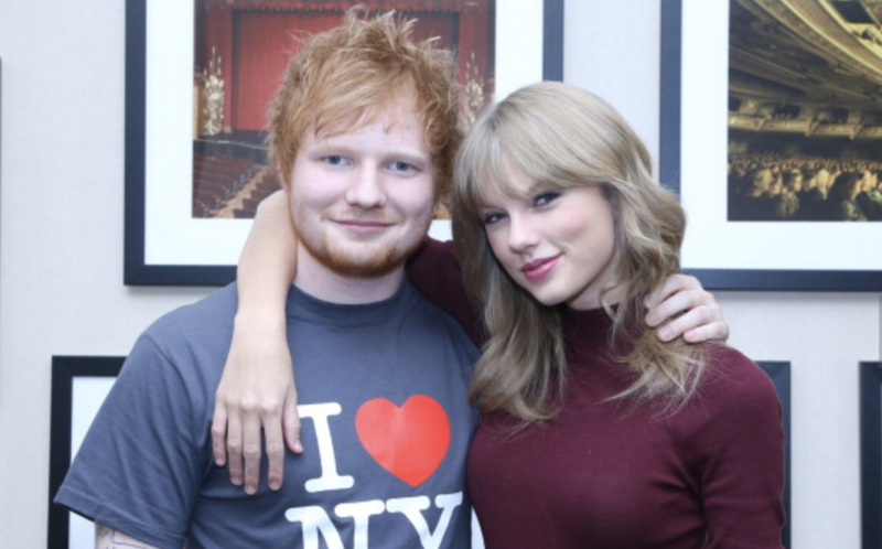 Sheeran has revealed that he's talking to Swift directly about the feud (Getty Images)