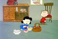 """<p><b>What It's About:</b> """"Linus is certain that the Easter Beagle will bring eggs for everyone this year, but the rest of the gang is skeptical. Taking matters into their own hands, Peppermint Patty and Marcie try to make Easter eggs, while Lucy throws a private egg hunt.""""</p> <p><a href=""""https://tv.apple.com/us/movie/its-the-easter-beagle-charlie-brown/umc.cmc.17y48i5ko6gft5ieh148nzqzn?ctx_brand=tvs.sbd.4000"""" class=""""link rapid-noclick-resp"""" rel=""""nofollow noopener"""" target=""""_blank"""" data-ylk=""""slk:Stream It's the Easter Beagle, Charlie Brown! on Apple TV+ here!"""">Stream <b>It's the Easter Beagle, Charlie Brown!</b> on Apple TV+ here!</a></p>"""
