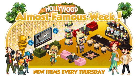 Restaurant City Almost Famous Week