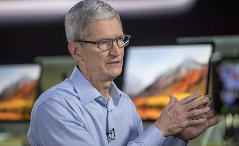 Apple CEO Tim Cook Wades Into Supreme Court Fight Over DACA