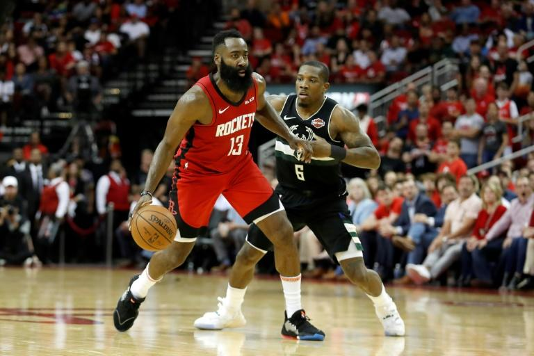 James Harden, pictured here playing the Milwaukee Bucks, has helped the Houston Rockets stretch their winning streak to six games