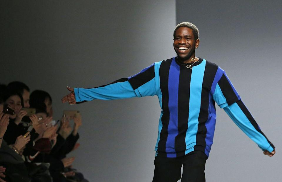 <p><strong>Brand:</strong> Kenneth Ize </p><p>If mixed patterns and prints are your thing, then you absolutely need to know about Kenneth Ize, whose colorful menswear-inspired pieces will make you feel so joyful just by looking at them. </p>