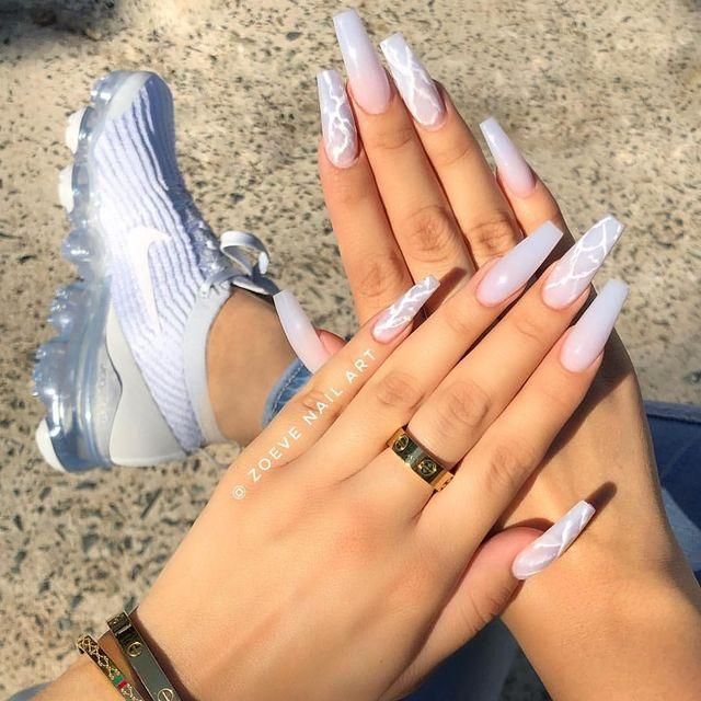 """<p>We love these transparent acrylics which sit somewhere in-between white and grey.</p><p><a href=""""https://www.instagram.com/p/BxPpkShpjcR/"""" rel=""""nofollow noopener"""" target=""""_blank"""" data-ylk=""""slk:See the original post on Instagram"""" class=""""link rapid-noclick-resp"""">See the original post on Instagram</a></p>"""