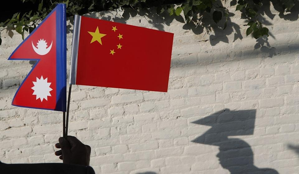 China's investment in Nepal is now five times that from India. Photo: AP