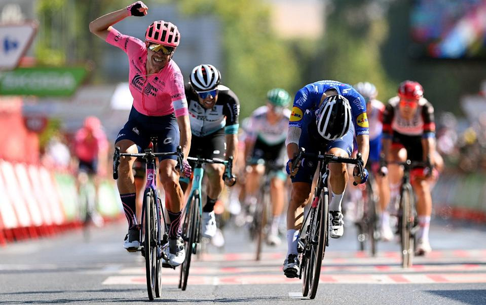 Magnus Cort wins again as Odd Christian Eiking retains lead at Vuelta a Espana Primoz Roglic - all the latest news and results from the 2021 Vuelta a España - GETTY IMAGES