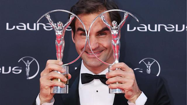 Playing through the same era as Rafael Nadal has been of huge benefit to Roger Federer's career, according to the Swiss.