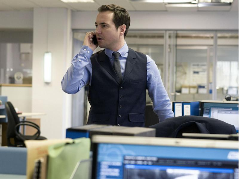 Martin Compston plays Detective Sergeant Steve Arnott in the BBC's 'Line of Duty': BBC