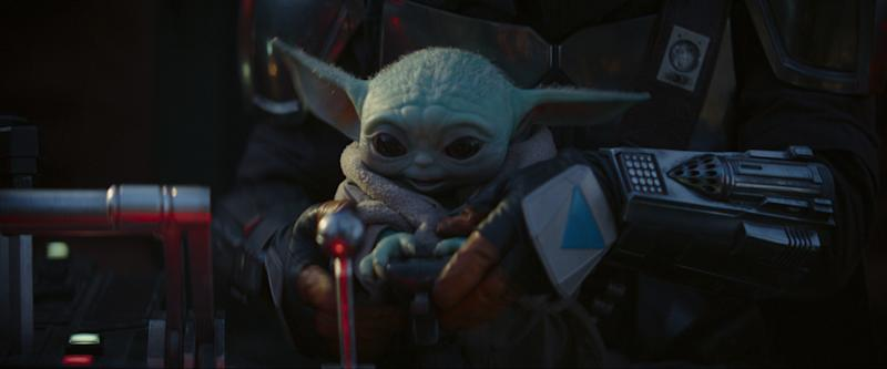 The Child in THE MANDALORIAN, exclusively on Disney+. (Lucasfilm Ltd.)