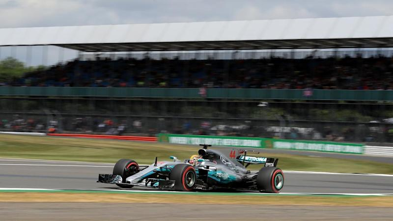 Lewis Hamilton's chances of pole at Silverstone have been boosted with a penalty to his teammate