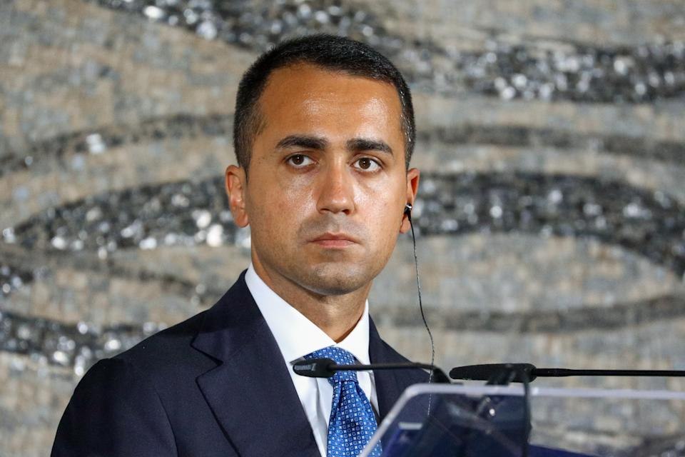 Luigi Di Maio (Photo by Russian Foreign Ministry\TASS via Getty Images)