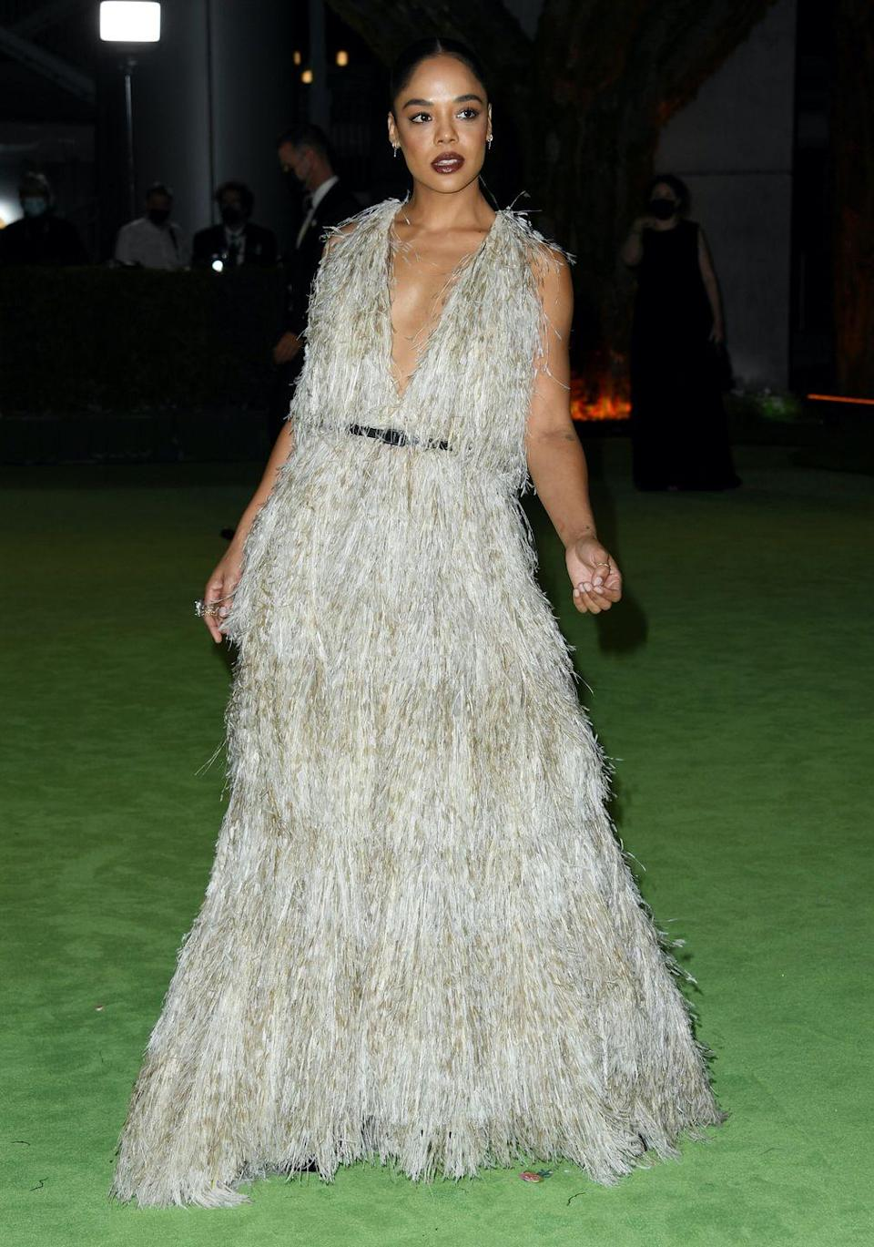 <p>in Christian Dior Couture</p>