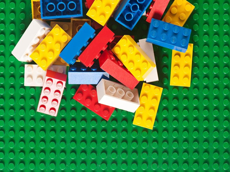 Lego is going greener by recycling waste plastic to make new blocks (Getty)