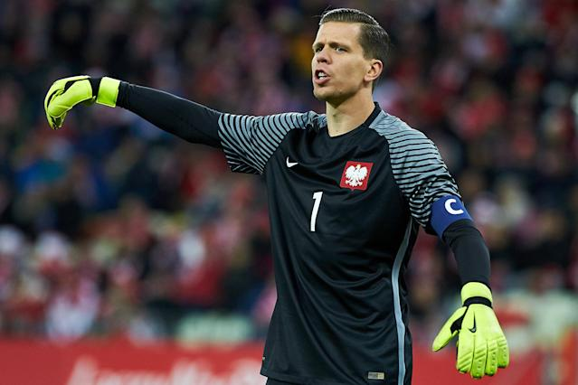 Soccer Football - International Friendly - Poland vs Mexico - Energa Stadium, Gdansk, Poland - November 13, 2017 Poland's Wojciech Szczesny Agencja Gazeta/Jan Rusek via REUTERS POLAND OUT. NO COMMERCIAL OR EDITORIAL SALES IN POLAND THIS IMAGE HAS BEEN SUPPLIED BY A THIRD PARTY.