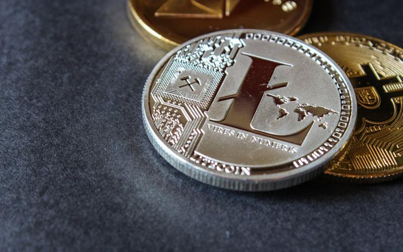 Litecoin price leads the altcoin gains, again. | Source: Shutterstock