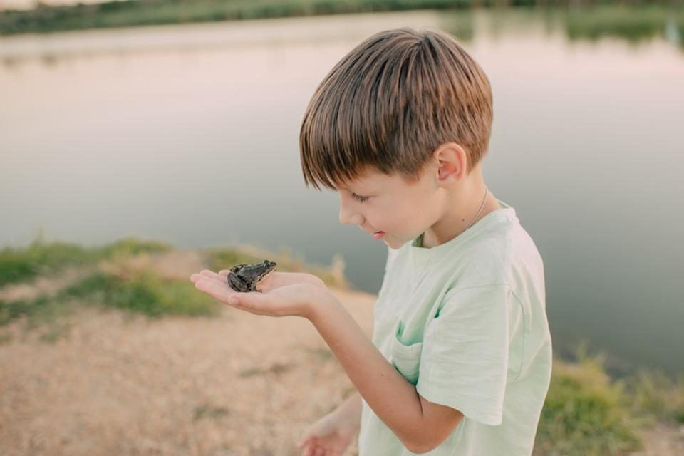 boy with toad outdated life lessons