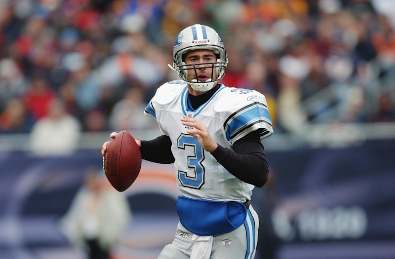 Joey Harrington was still starting NFL games in 2003. (Getty Images)