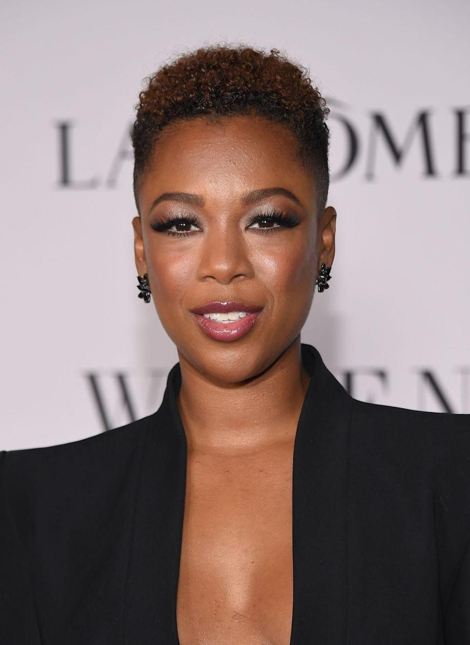 <p>Samira Wiley's cropped-side pixie cut has a touch of multidimensional caramel—because why stop at just a great cut? </p>
