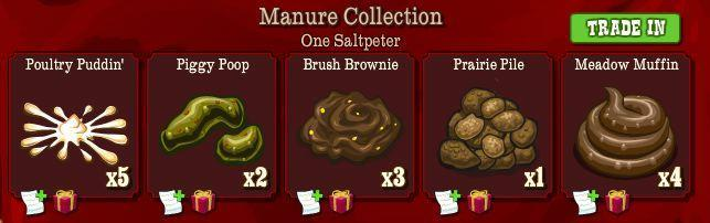 frontierville manure collection