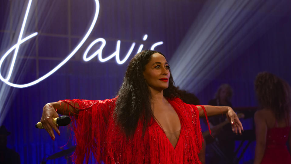 Tracee Ellis Ross as singer Grace Davis in 'The High Note'. (Credit: Universal/Focus Features)