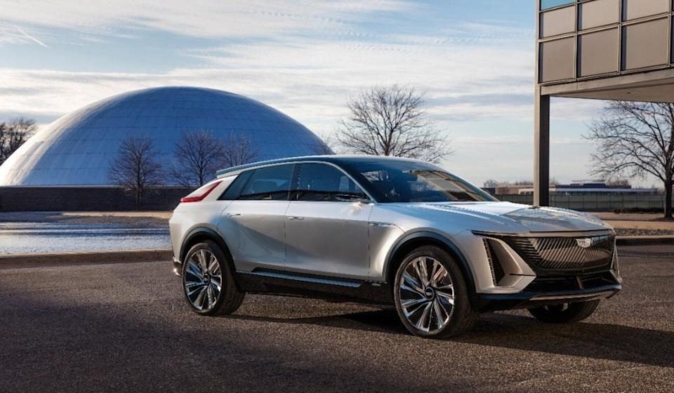 The Cadillac Lyriq is one of the electric vehicles that General Motors Co said on October 20 that its factory in Spring Hill, Tennessee, will begin to produce. State officials hope Chinese parts manufacturers might set up plants in the state to support such production. Photo: General Motors via Reuters