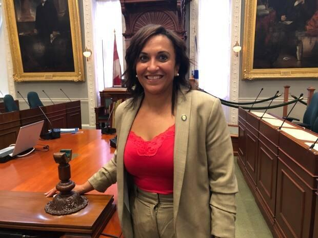 Angela Simmonds is the first Black woman to be selected as deputy Speaker in Nova Scotia. (Jean Laroche/CBC - image credit)