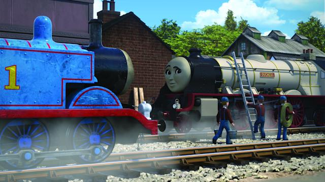 The episode will have a young Prince Charles and the Queen as well as a new royal train. (PA/Mattel)