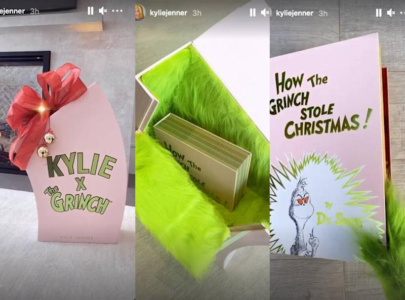 Kylie Jenner, Kylie x Grinch Collection, Kylie Cosmetics