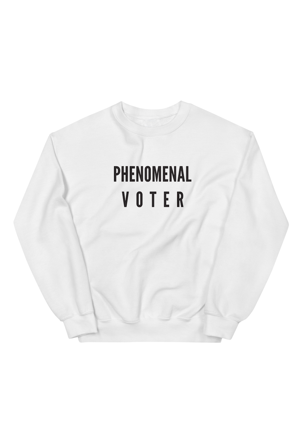 """<p><strong>Phenomenal</strong></p><p>phenomenalwoman.us</p><p><strong>$55.00</strong></p><p><a href=""""https://phenomenalwoman.us/collections/adult-collection/products/sweatshirt"""" rel=""""nofollow noopener"""" target=""""_blank"""" data-ylk=""""slk:SHOP IT"""" class=""""link rapid-noclick-resp"""">SHOP IT</a></p><p>Meena Harris, niece of Democratic VP nominee Kamala Harris, is the CEO & founder of the Phenomenal brand that supports a range of non-profits, including the <a href=""""https://blackfutureslab.org/"""" rel=""""nofollow noopener"""" target=""""_blank"""" data-ylk=""""slk:Black Futures Lab"""" class=""""link rapid-noclick-resp"""">Black Futures Lab</a>, <a href=""""https://justice4women.org/"""" rel=""""nofollow noopener"""" target=""""_blank"""" data-ylk=""""slk:Justice for Migrant Women"""" class=""""link rapid-noclick-resp"""">Justice for Migrant Women</a>, and <a href=""""https://www.cair.com/"""" rel=""""nofollow noopener"""" target=""""_blank"""" data-ylk=""""slk:The Council on American-Islamic Relations"""" class=""""link rapid-noclick-resp"""">The Council on American-Islamic Relations</a>. Purchasing this """"Phenomenal Voter"""" sweatshirt is the perfect way to contribute to Harris' brand, as well as these other organizations. </p>"""