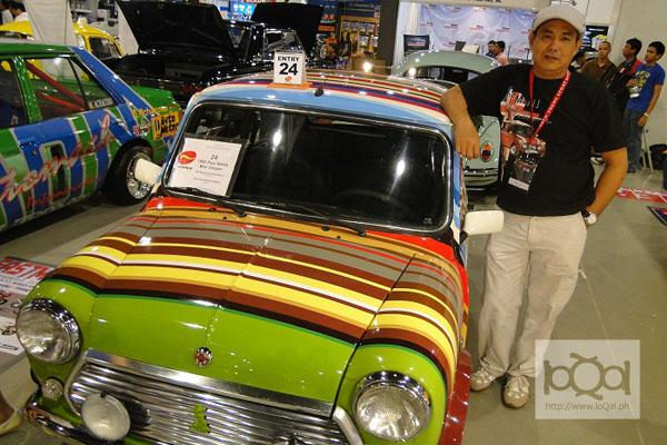 Filipino collector designs Paul Smith-inspired Mini Cooper