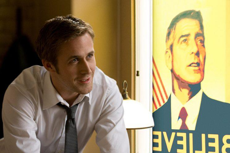 Ryan Gosling and George Clooney star in 'The Ides of March' (Photo: Saeed Adyani/©Sony Pictures Entertainment/Courtesy Everett Collection)