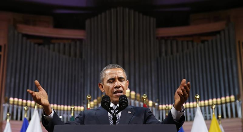 Obama's Cold War Speech on Russia and Ukraine: Full Text