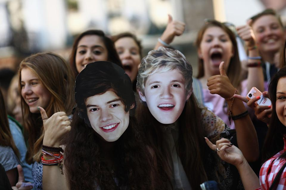 One Direction fans at the premiere of This Is Us in 2013 (Getty Images)