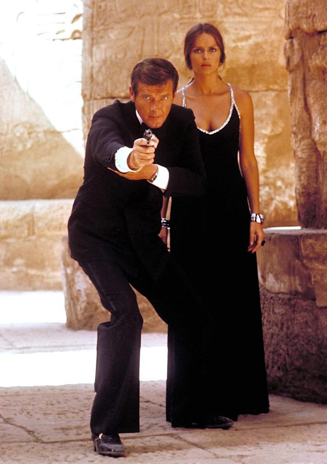 <p>Dearly departed Roger Moore never did it better during his seven-movie tenure as James Bond. Funny, sexy and action-packed, <em>The Spy Who Loved Me</em> represents peak 007 in an otherwise uneven decade for the franchise. (Photo: Everett)<br></p>