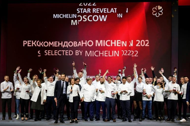 Sixty-nine restaurants were recommended by the Michelin Guide in Moscow (AFP/Dimitar DILKOFF)