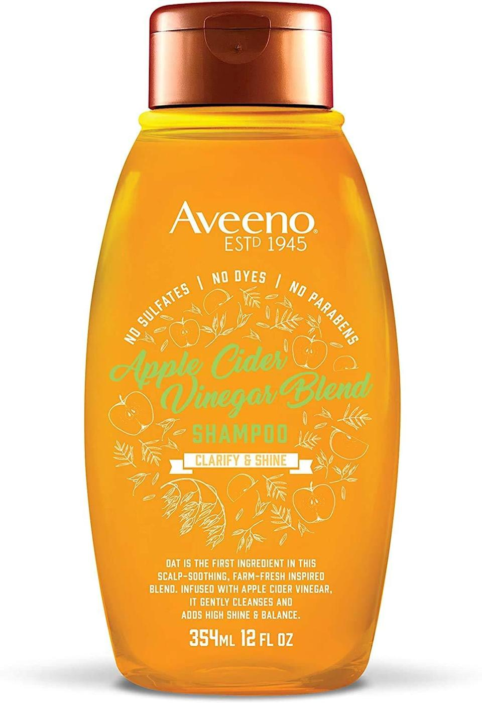 Aveeno Scalp Soothing Shampoo Apple Cider Vinegar Blend, Best Detox Shampoos