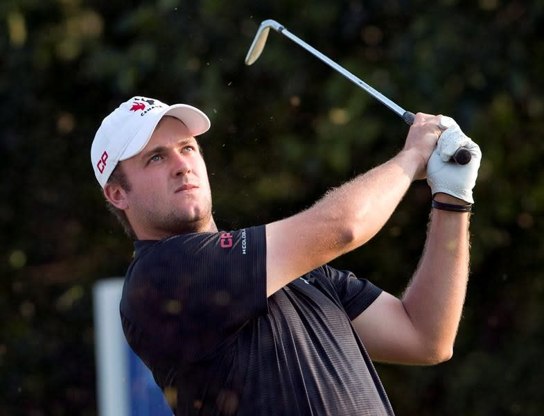 Canada's Pendrith brings big drives to challenging Winged Foot for U.S. Open