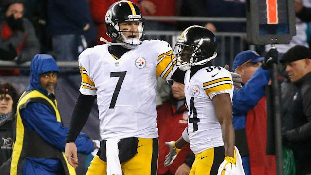 "There is ""no issue"" between Ben Roethlisberger and Antonio Brown at the Pittsburgh Steelers."