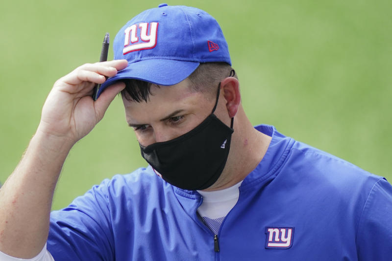 New York Giants coach Joe Judge makes his debut against the Steelers. (AP Photo/John Minchillo, File)