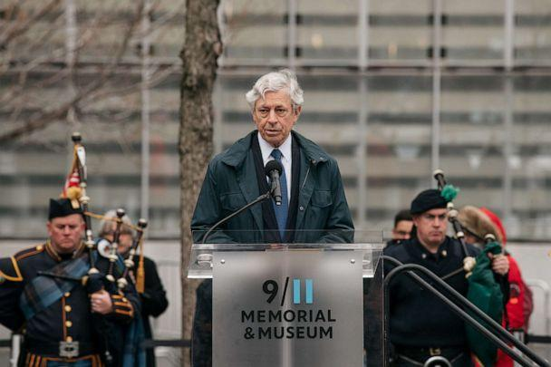 PHOTO: Rick Cotton, executive director of the Port Authority of New York and New Jersey, speaks during a ceremony to commemorate the 1993 World Trade Center bombing in New York City on February 26, 2020. (Scott Heins/Getty Images)