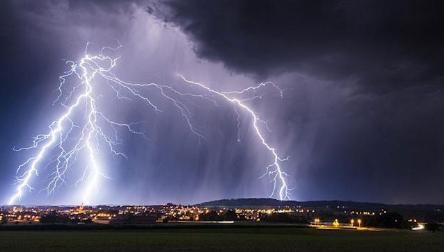 The odds of being struck by lightning in a given year are one in1,083,000. (Photo: Nancy Newell/Getty Images)