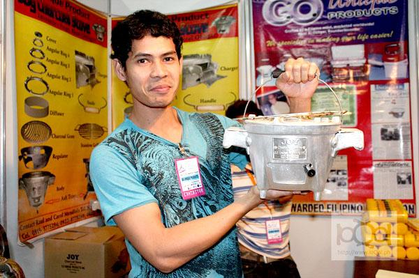 Local firm offers Pinoy-made charcoal stove as LPG alternative