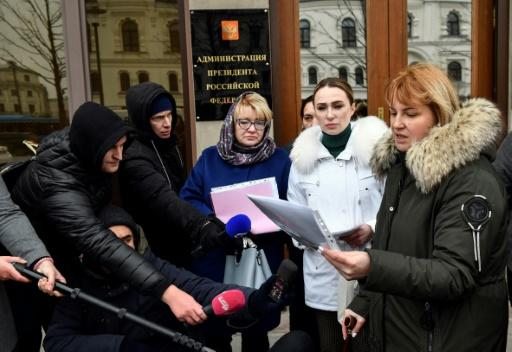 A new group, Mothers Against Political Repression, has appealed to President Vladimir Putin to intervene in what they say has been an arbitrary crackdown by the courts on protesters